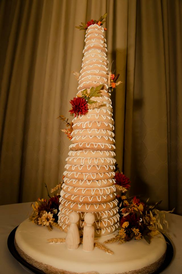 Kransekage A Danish Wedding Cake Kitchen Frau