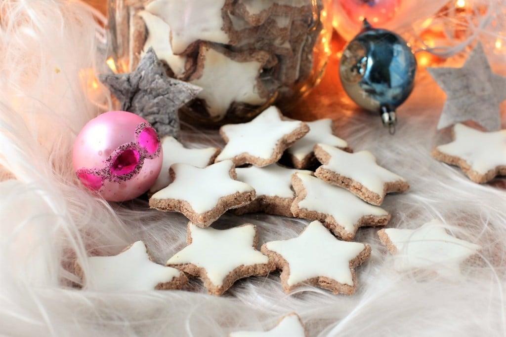 Zimtsterne Cinnamon Stars German Cookies Kitchen Frau