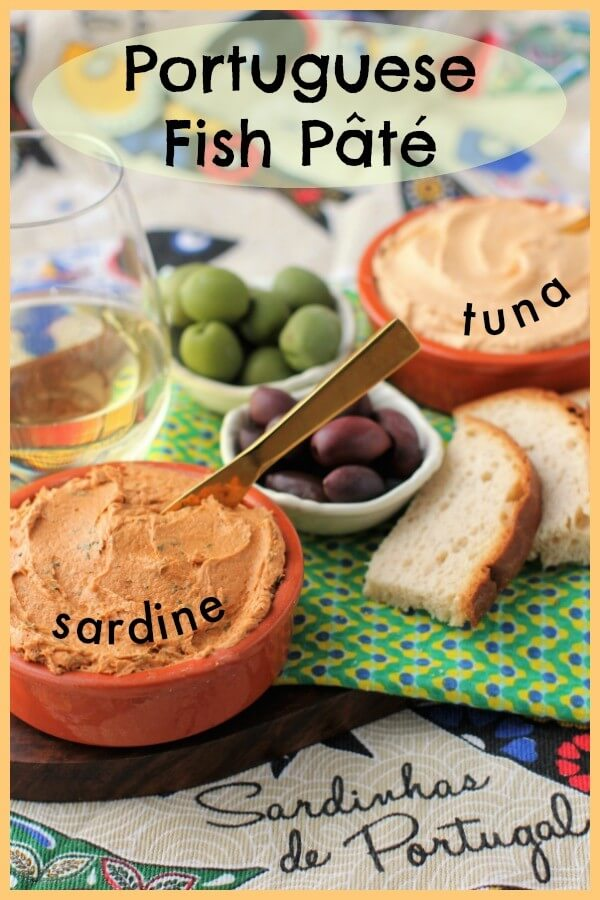 Umami flavor, healthy omega-3s, easy appetizer, Portuguese fish pate is a delicious treat.