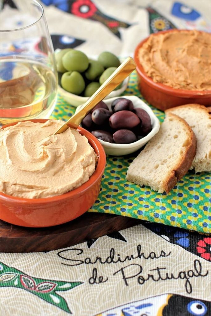 two simple tubs of fish pate - loaded with flavour and a great appetizer option
