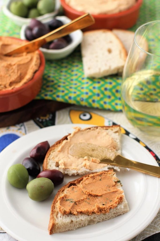 fish pate from tuna and sardines are a great way to eat more healthy fish